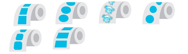 Custom Promotional Stickers Seattle Rolls