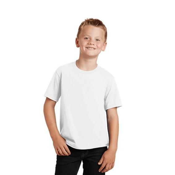 Custom Screen Printed Corporate Logo T-Shirts Seattle: Port & Company Short Sleeve Children's