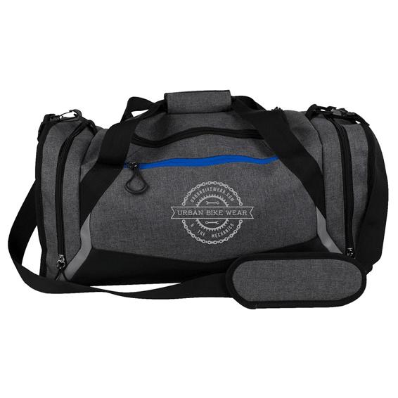 Custom Promotional Duffel Bags Seattle Urban Bike Wear