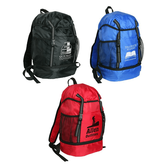 Custom Promotional Backpacks Seattle Trail Loop Drawstring