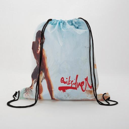 custom drawstring backpack, seattle wa screenprinting