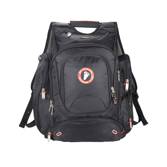 Custom Promotional Backpacks Seattle elleven TSA 17""