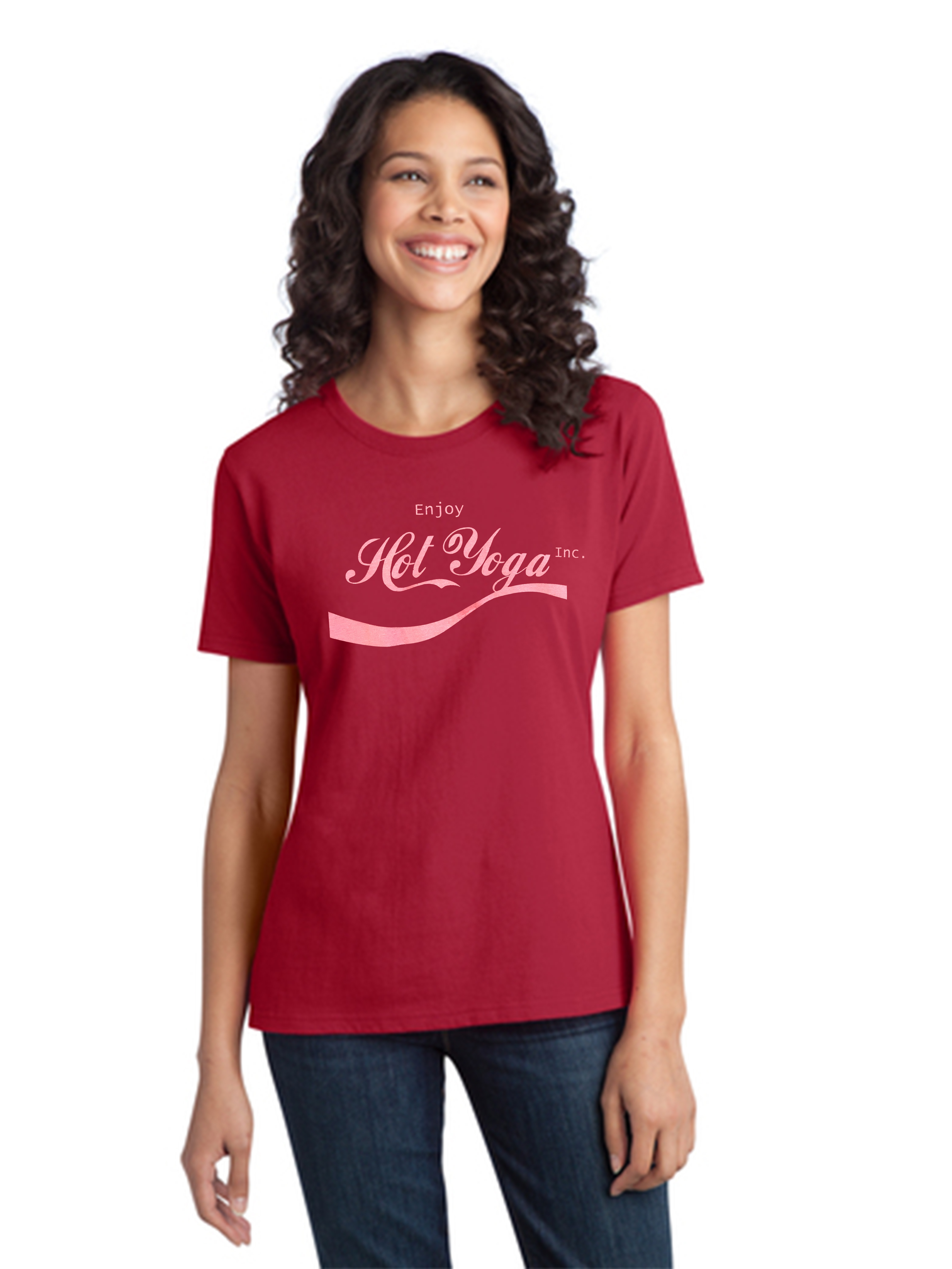 Screen Print Seattle- Seattle T-shirt Screenprinting-Hot Yoga Tee