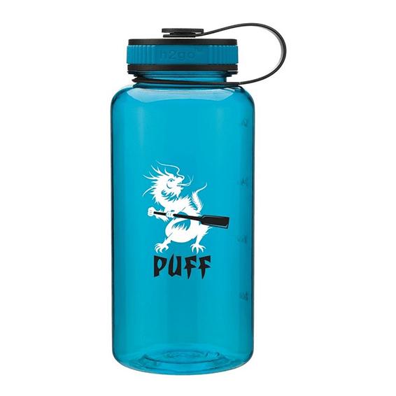 Custom Printed Corporate Logo Water Bottles Seattle H2go Wide BPA-Free