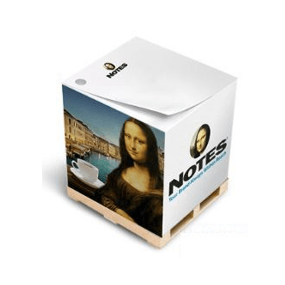 Custom Printed Corporate Logo Branded Promotional Stick Notes Pads Seattle: Stik-Withit Full Size Cube
