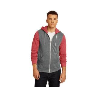 Custom Logo Hoodie Seattle: Alternative Rocky Colorblock Eco-Fleece