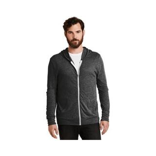 Custom Printed Corporate Logo Hoodie Seattle: Alternative Eco-Jersey Full Zip