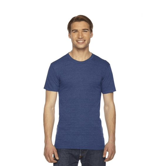 Custom Screen Printed Corporate Logo T-Shirts Seattle: American Apparel Unisex Triblend Track