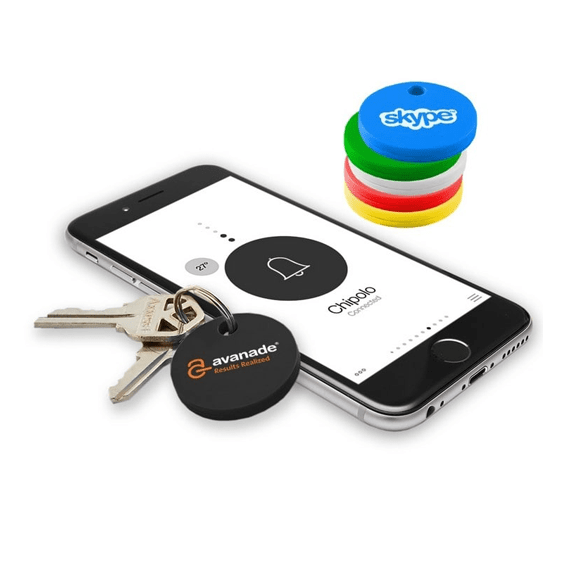 Custom Printed Corporate Logo Promotional Cell Phone Accessory: Bluetooth Tracker