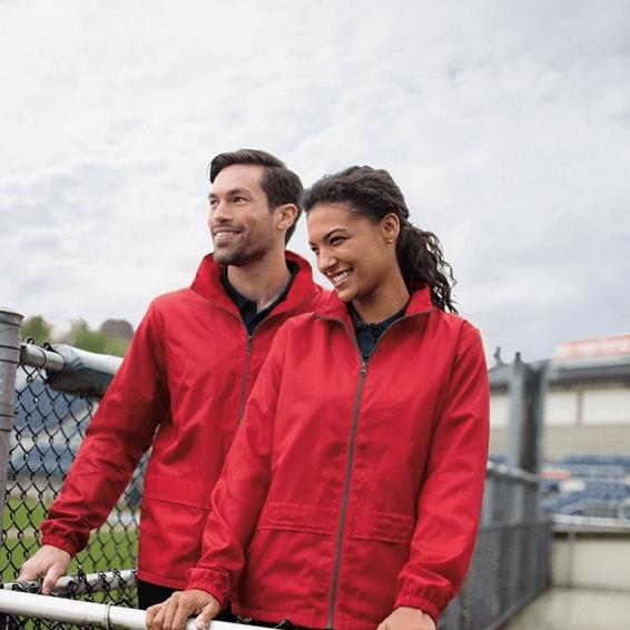 Custom Branded Corporate Logo Promotional Jackets Seattle: Clique Moss Windbreaker