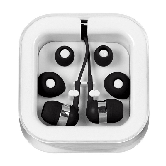 Custom Branded Logo Earbuds Seattle: Microphone
