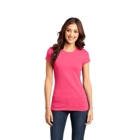 Custom Screen Printed Corporate Branded Promotional T-Shirt Seattle: Ladies' Junior Very Important