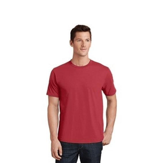 Custom Screen Printed Corporate Logo T-Shirts Seattle: Port & Company Fan Favorite