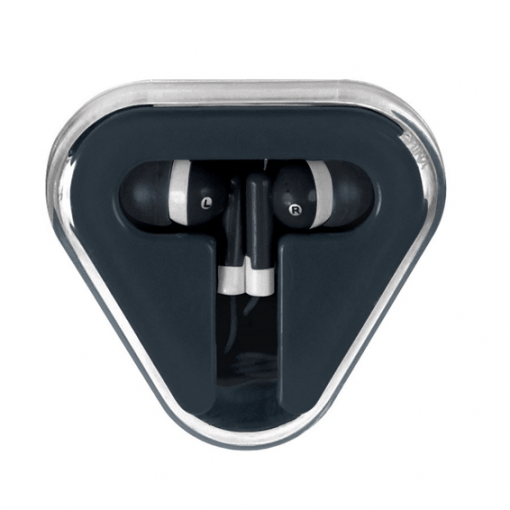 Earbuds with Company Logo