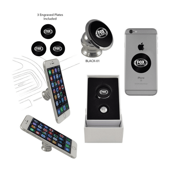 Custom Printed Corporate Logo Promotional Cell Phone Accessory: Swivel Hitch
