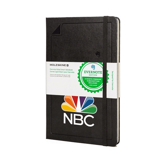 Custom Printed Branded Logo Seattle: Moleskin Evernote Notebook