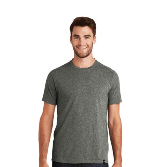 Custom Screen Printed Corporate Branded Promotional T-Shirt Seattle: New Era Blend Crew
