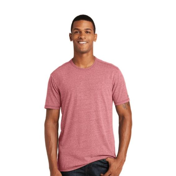 Custom Screen Printed Corporate Branded Promotional T-Shirt Seattle: New Era' Tri-Blend Crew