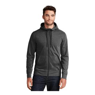 Custom Printed Branded Corporate Logo Hoodie Seattle:New Era Men's Fleece Full Zip
