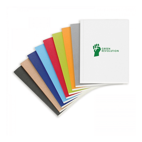 Custom Printed Logo Seattle:Perfect Bound Eco Notebook