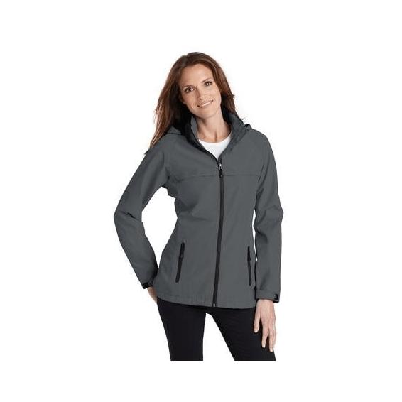 Custom Corporate Logo Promotional Jackets Seattle: Port Authority Waterproof Ladies