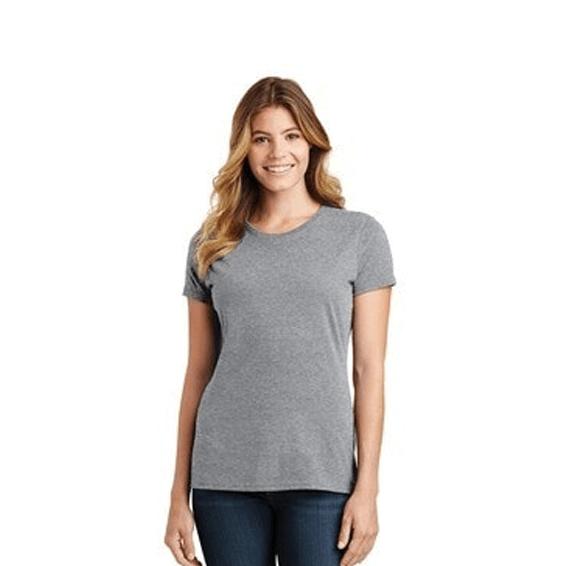 Custom Screen Printed Corporate Logo T-Shirts Seattle: Port & Company Short Sleeve Ladies