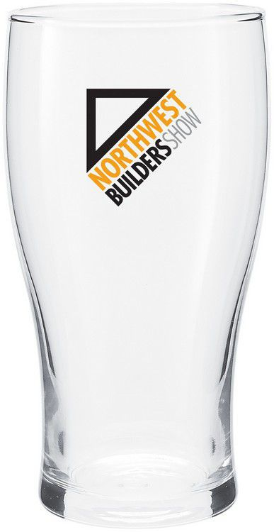 Custom Designed Promotional Pub Glass Seattle