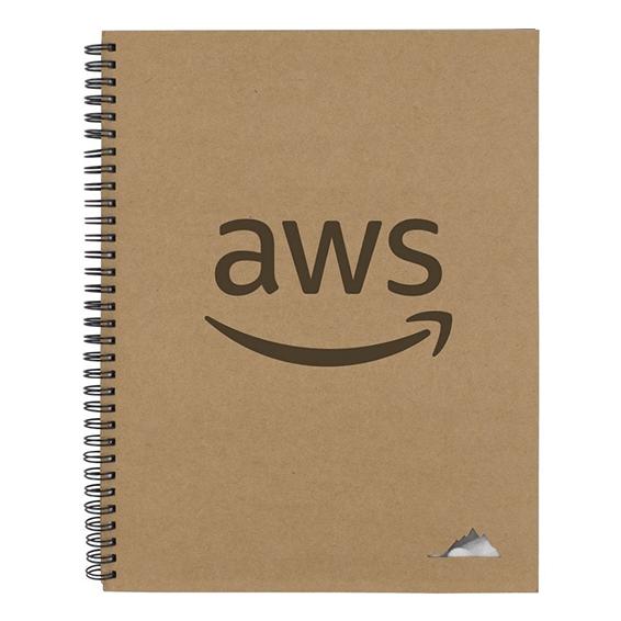 Custom Printed Logo Seattle: Rune Stone Notebook
