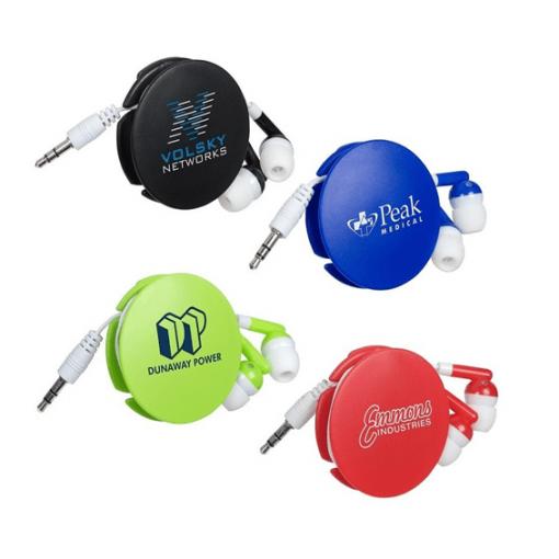 Promotional Headphones custom printed