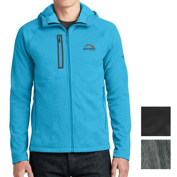 Custom Corporate Logo Jackets Seattle: The North Face Canyon Flats Fleece Hooded