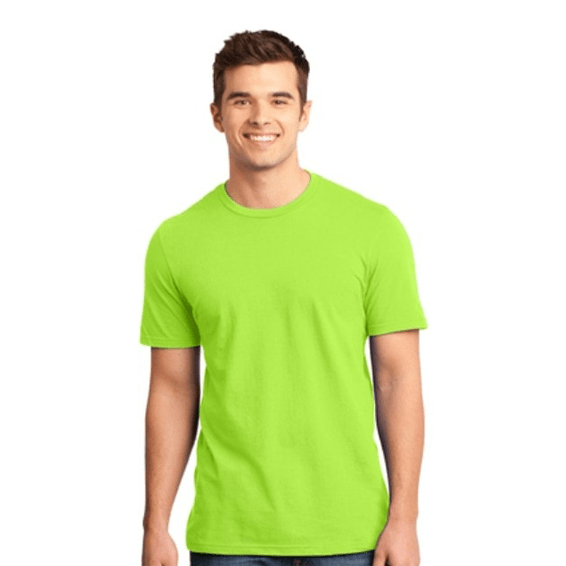 Custom Screen Printed Corporate Branded Promotional T-Shirt Seattle: District Made Men's' Very Important
