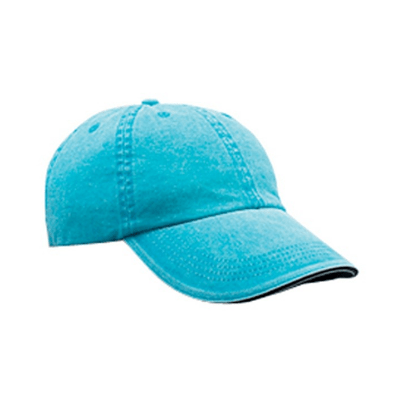 Corporate Logo Printed Hats: ANVIL Adult Low Profile Sandwich Trim Hat Seattle