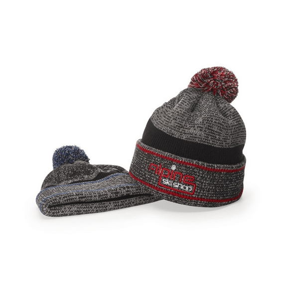Corporate Logo Printed Hats: Pom Beanie Hat
