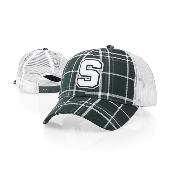 Corporate Logo Hats Seattle: Mid-Pro Printed Mesh Back Trucker