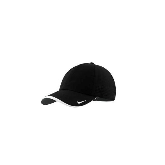 Corporate Logo Hats Seattle: Nike Golf Dri-Fit Swoosh Perforated