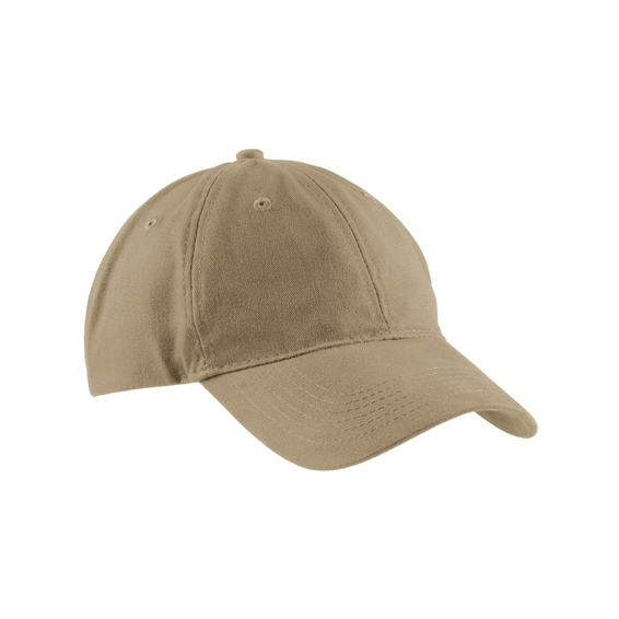 d Corporate Logo Hats Seattle: Port & Company Brushed Twill