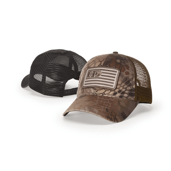 Corporate Logo Hats Seattle: Relaxed Unstructured Lifestyle Garment Washed Printed Trucker
