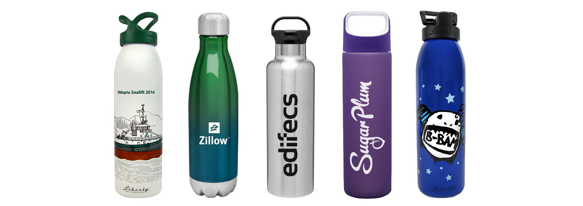 Custom Branded Printed Promotional Water Bottles For Seattle Businesses