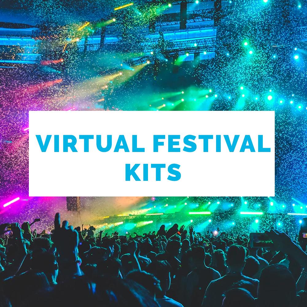 Work From Home Kits-virtual festival kits-social distancing kitting