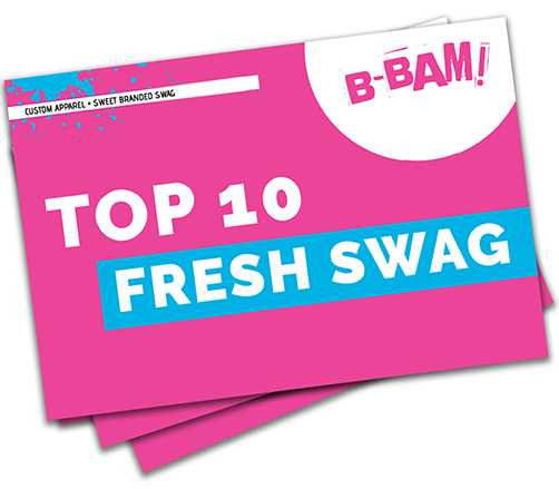 download the top 10 fresh swag ebook- email signup form-top 10 promotional products
