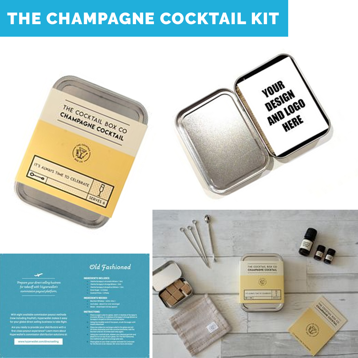 Work From Home Kits- happy hour kits