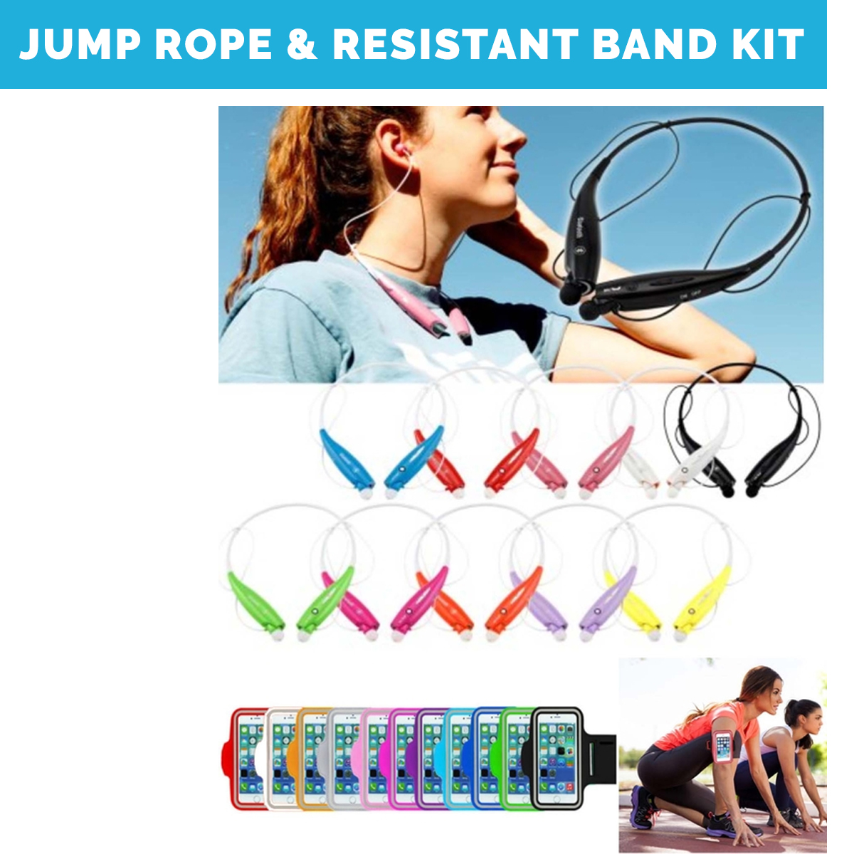 Work From Home Kits- employee fitness kits