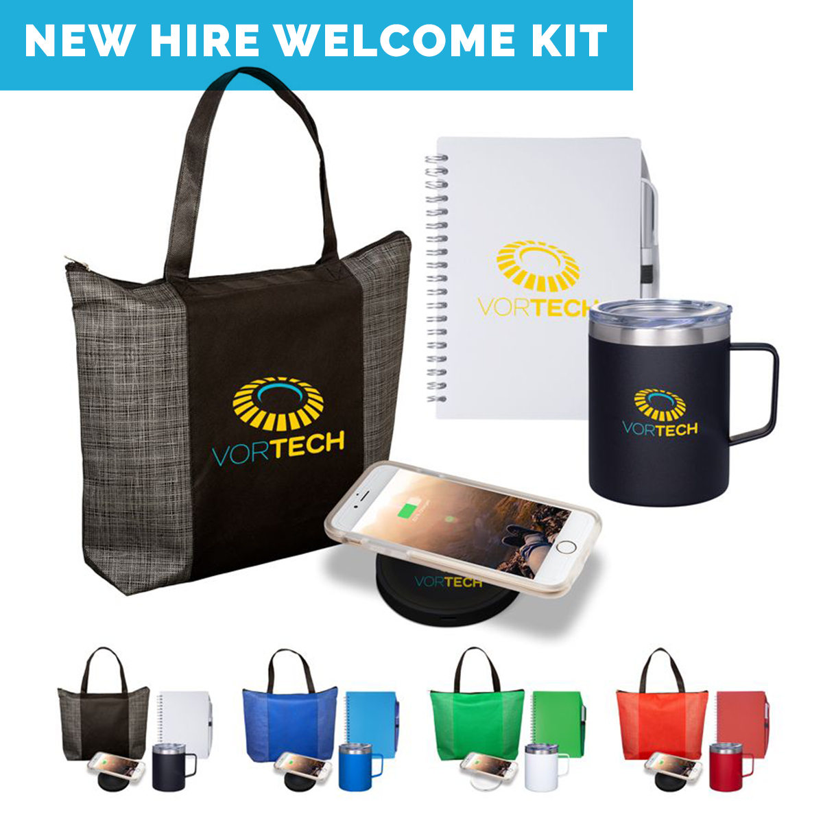 Work From Home Kits-REMOTE EMPLOYEE WELCOME KIT-VIRTUAL TEAMS