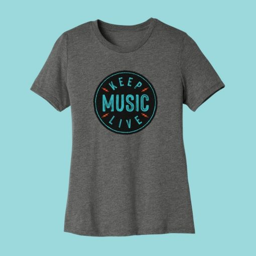 Keep Music Live Women's T-shirt