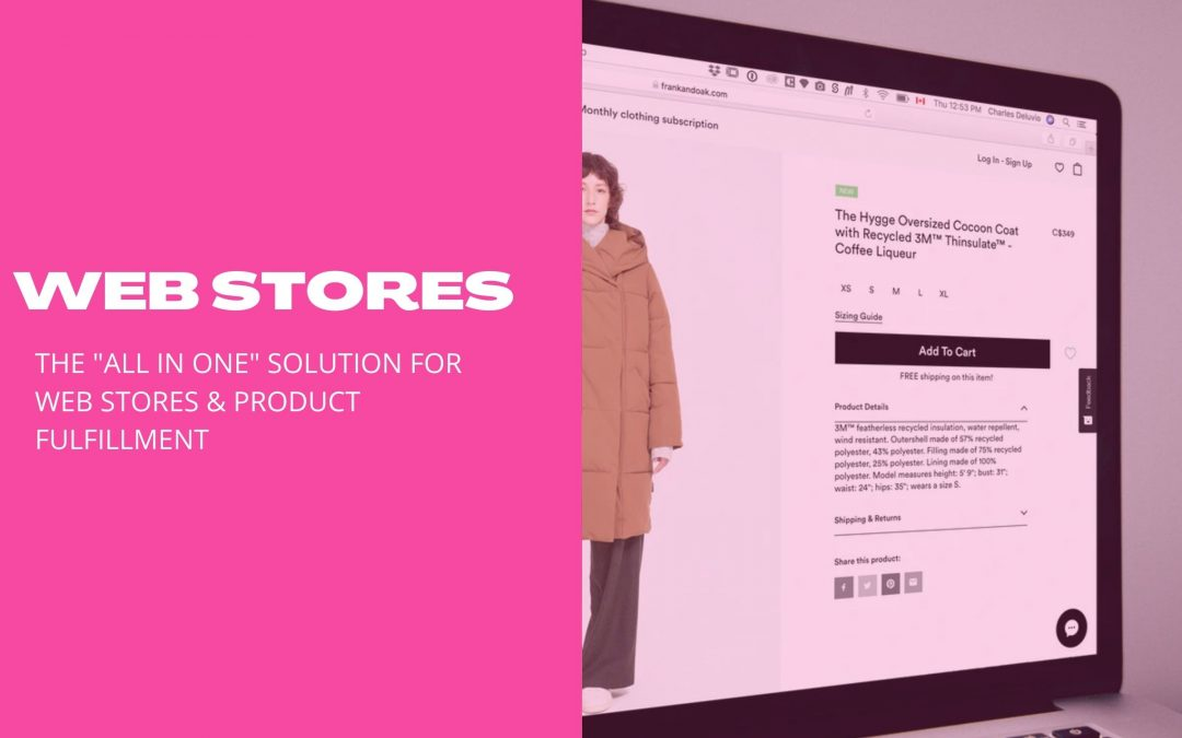 Web Stores- The hands-off solution for your online promotional products