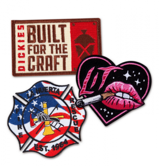 Custom Leather Patches. Custom patches band merch patches