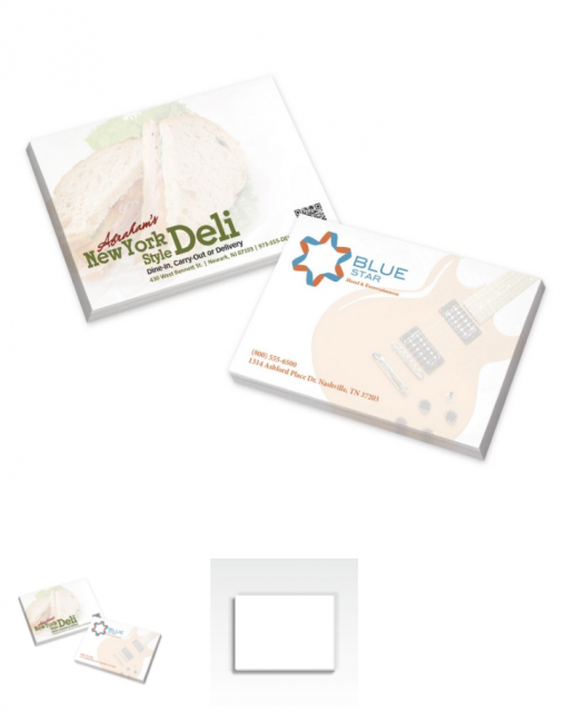 Custom Sticky Notes Seattle Screen Printing and Promotional Products