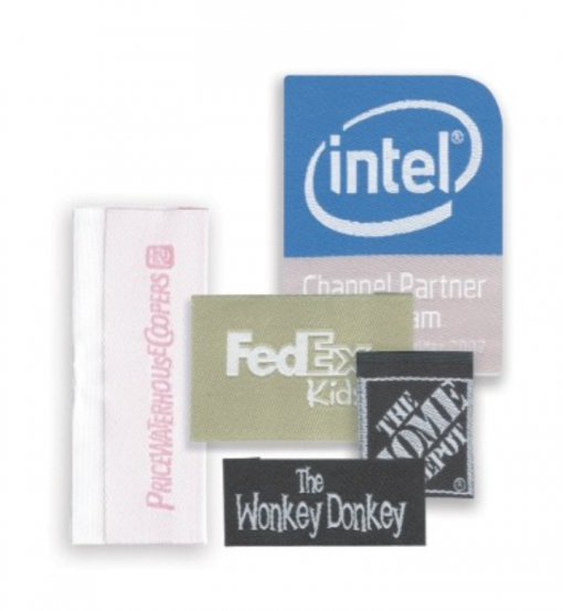 Large Custom Woven Labels Seattle Embroidery