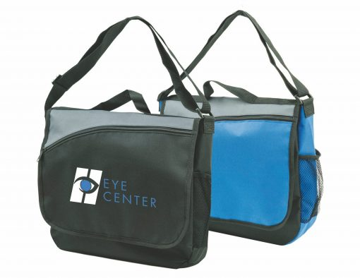 All Purpose Messenger Bag. Seattle Promotional Products and custom screen printing.