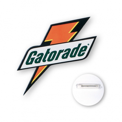 Custom Shape Buttons seattle screen printing and promotional product supplier